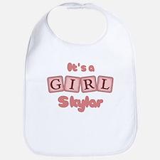 It's A Girl - Skylar Bib