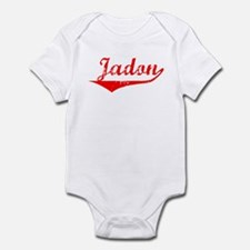 Jadon Vintage (Red) Infant Bodysuit