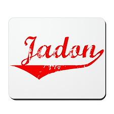 Jadon Vintage (Red) Mousepad