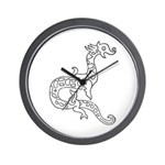 Dragon 6 Wall Clock