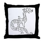 Dragon 6 Throw Pillow