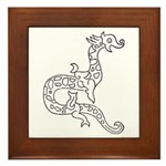 Dragon 6 Framed Tile