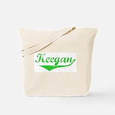 Keegan Vintage (Green) Tote Bag