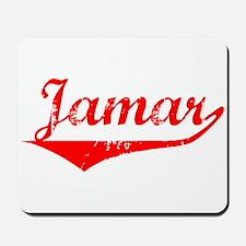 Jamar Vintage (Red) Mousepad