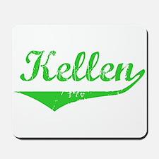 Kellen Vintage (Green) Mousepad