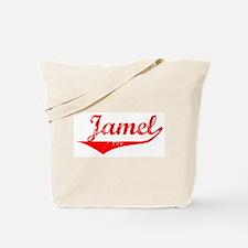 Jamel Vintage (Red) Tote Bag