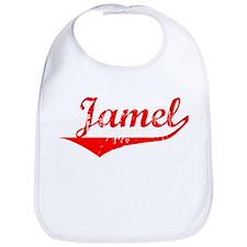 Jamel Vintage (Red) Bib
