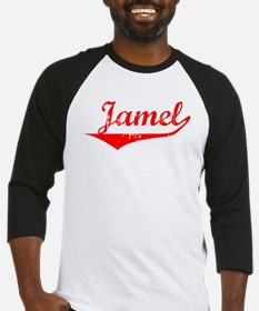 Jamel Vintage (Red) Baseball Jersey