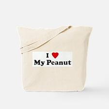 I Love My Peanut Tote Bag