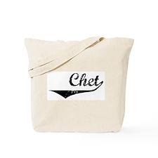 Chet Vintage (Black) Tote Bag
