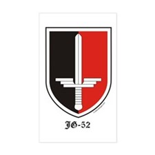 Luftwaffe JG-52 Sticker (Rectangular - Vertical)