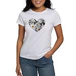 Daisy Heart Women's T-Shirt