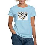 Daisy Heart Women's Light T-Shirt