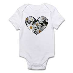 Daisy Heart Infant Bodysuit