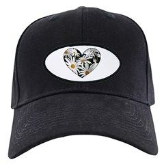 Daisy Heart Baseball Hat