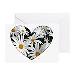 Daisy Heart Greeting Cards (Pk of 20)