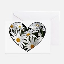 Daisy Heart Greeting Cards (Pk of 20)