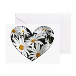 Daisy Heart Greeting Card