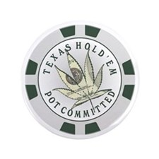 "Texas Hold'em Pot Committed 3.5"" Button"