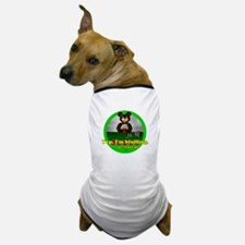 Bluffing Bear Dog T-Shirt