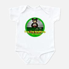 Bluffing Bear Infant Bodysuit
