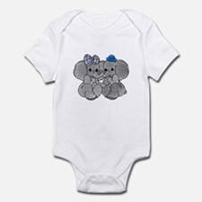 Elephants in Love Infant Bodysuit