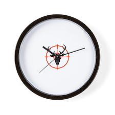 Deer in Target Wall Clock