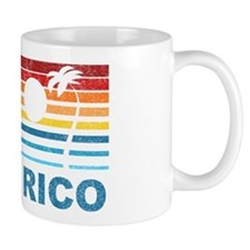 Retro Puerto Rico Palm Tree Mug