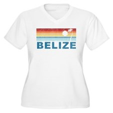 Retro Belize Palm Tree T-Shirt