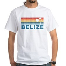 Retro Belize Palm Tree Shirt