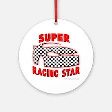 Super Racing Star Ornament (Round)