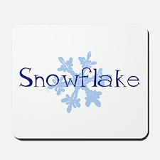Snowflake Mousepad