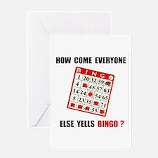 BINGO Greeting Card