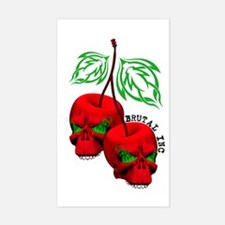 Cherrys Rectangle Decal