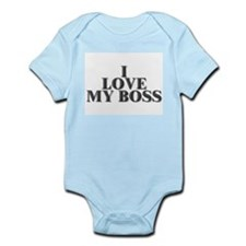 I Love My Boss Infant Creeper