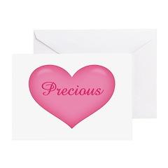 Precious Heart Greeting Card