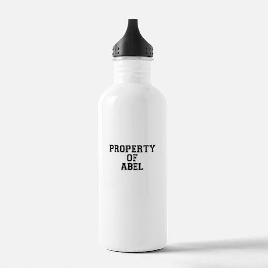 Property of ABEL Sports Water Bottle