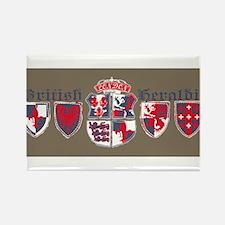 British shield Rectangle Magnet