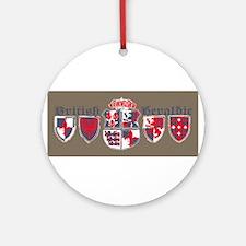 British shield Ornament (Round)