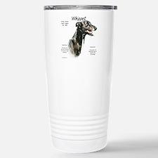 Cute Whippet Travel Mug