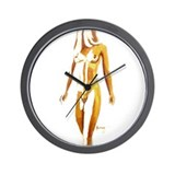 Naked girl Basic Clocks