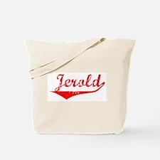 Jerold Vintage (Red) Tote Bag