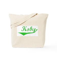 Koby Vintage (Green) Tote Bag