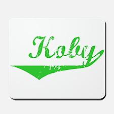Koby Vintage (Green) Mousepad