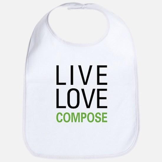 Live Love Compose Bib