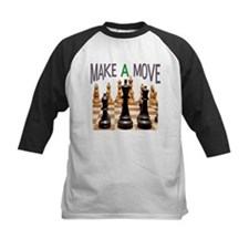 MAKE A MOVE CHESS 1 Tee