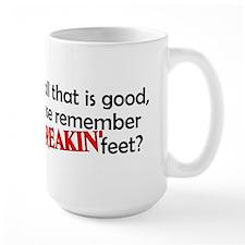 Point Your Feet Coffee Mug