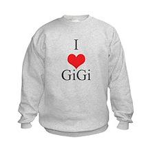 I Love (Heart) GiGi Sweatshirt