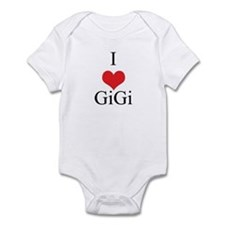 I Love (Heart) GiGi Onesie