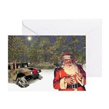 Military Silent Night Greeting Card